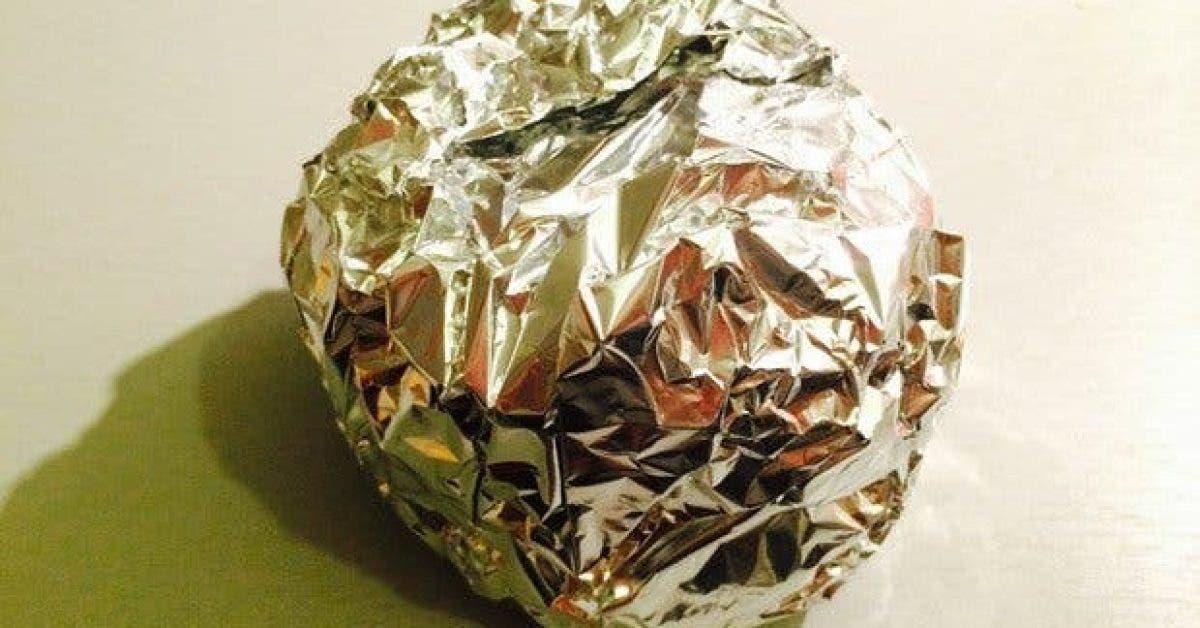 8 façons d'utiliser le papier aluminium pour votre cuisine et votre jardin