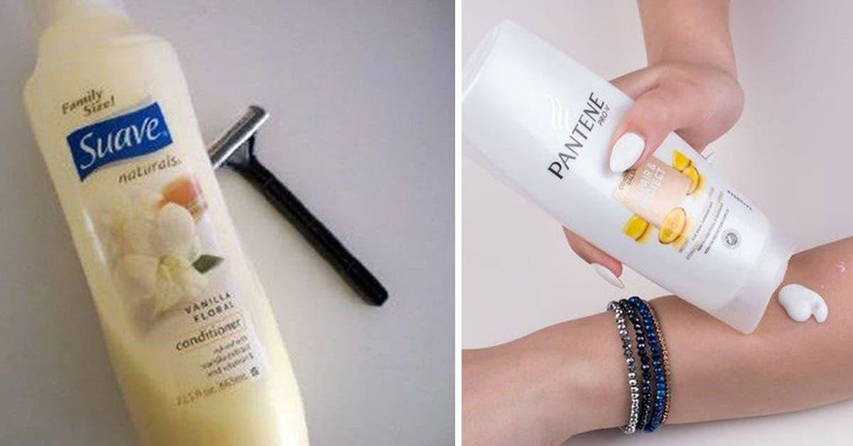 Les 14 utilisations surprenantes et pratiques de l'après-shampoing à connaître